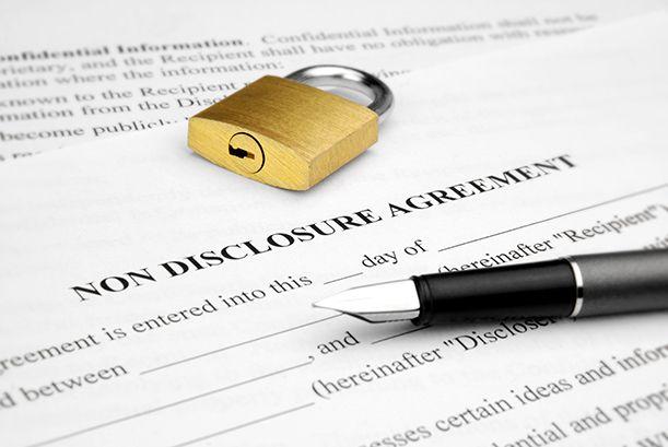 契約書のイメージ写真。NDAのイメージ